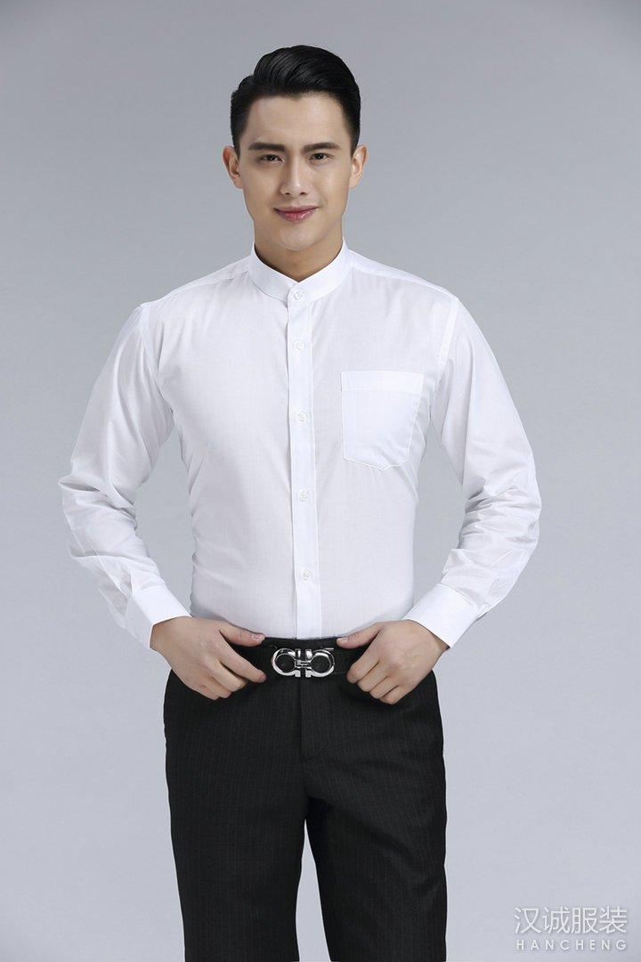 立领衬衫定做,北京立领衬衫定制,立领衬衫制作厂家
