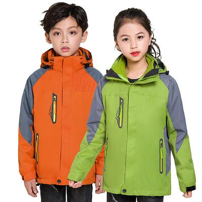 儿童冲锋衣定做,儿童户外冲锋衣订做,儿童冲锋衣批发厂