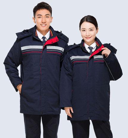 北京活里活面棉服定做,冬季防寒服定制厂家