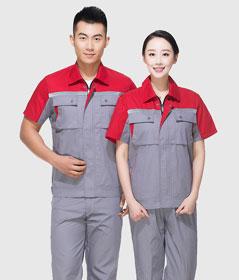 【图】建筑工人短袖乐动体育注册套装定做价格_款式_面料