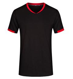 定做v领短袖t恤,v领短袖t恤工厂