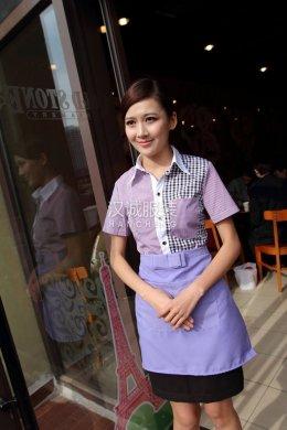 酒店女服务员制服,女式酒店工装,酒店服务员工装