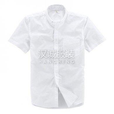 白衬衫,白色衬衫制作,白色短袖衬衫定制