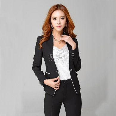 女式职业西装,定做女式职业西装,女式职业西装款式图片