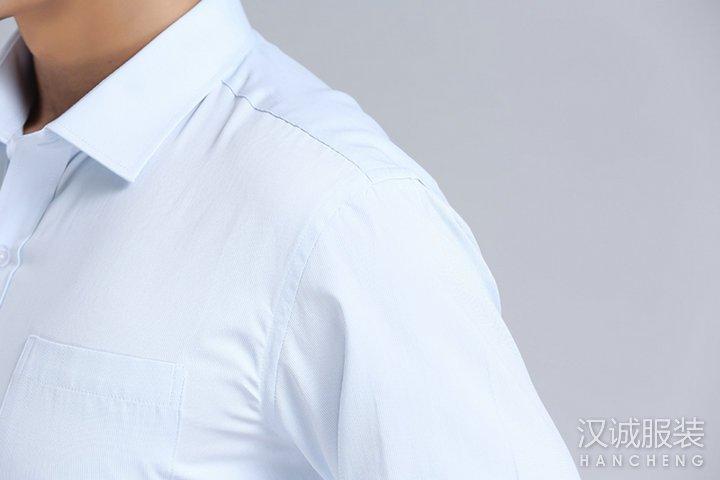 浅蓝色职业vwin官方网站长袖衬衫德赢vwin官网6