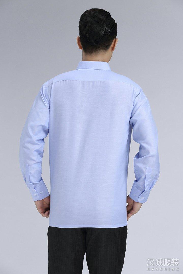 男士纯棉商务正装免烫衬衫量身定做3