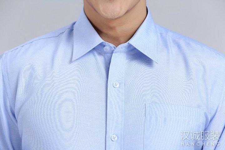男士纯棉商务正装免烫衬衫量身定做4