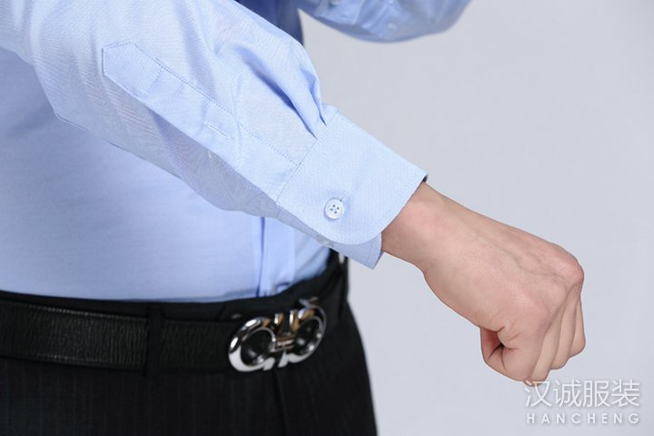 男士纯棉商务正装免烫衬衫量身定做6