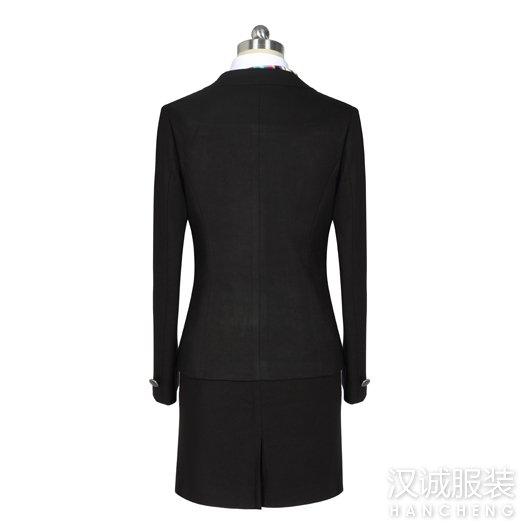 秋冬女士职业西服套装定做2